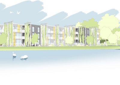 logements Habitat de l'Ill à Vendenheim - document PSA