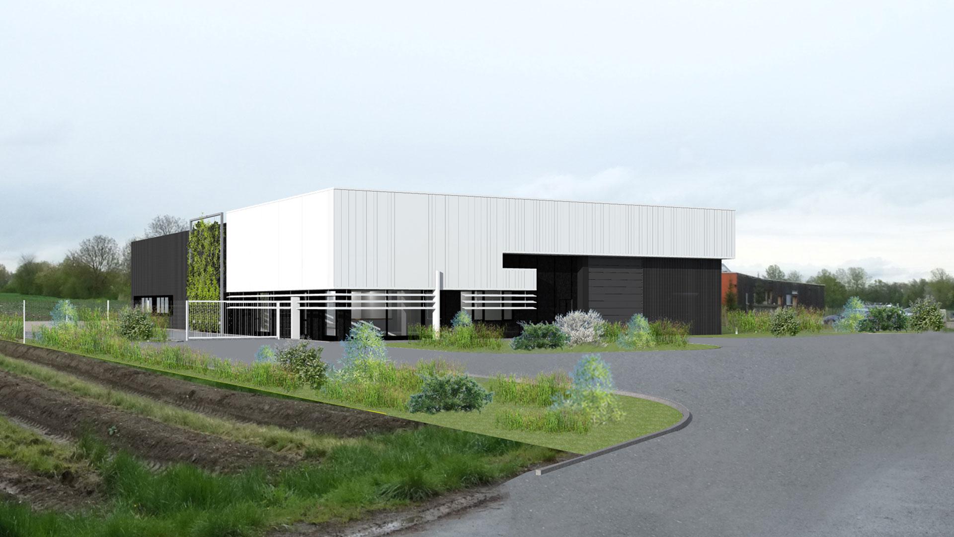 locaux de la société Hirtzel-Arbogast à Boofzheim - document  PSA