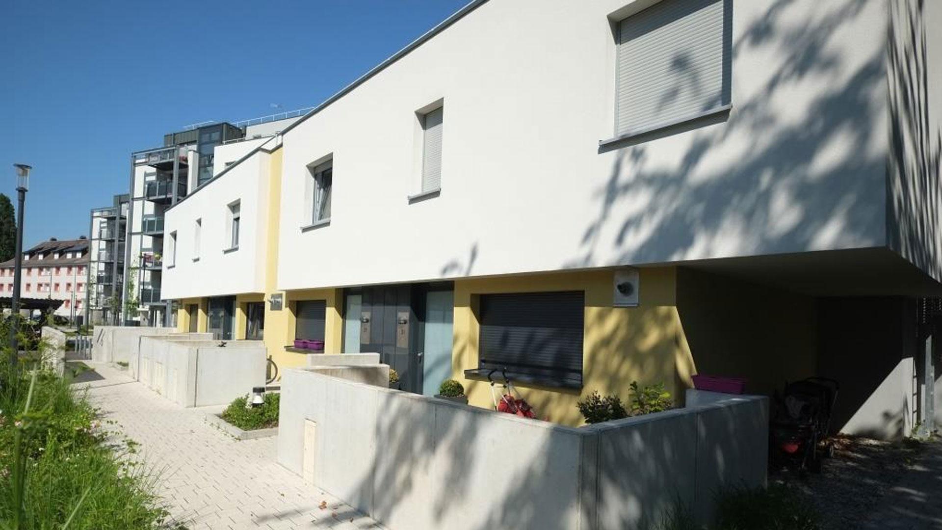 logements ICF Nord-Est à Koenigshoffen - photo PSA
