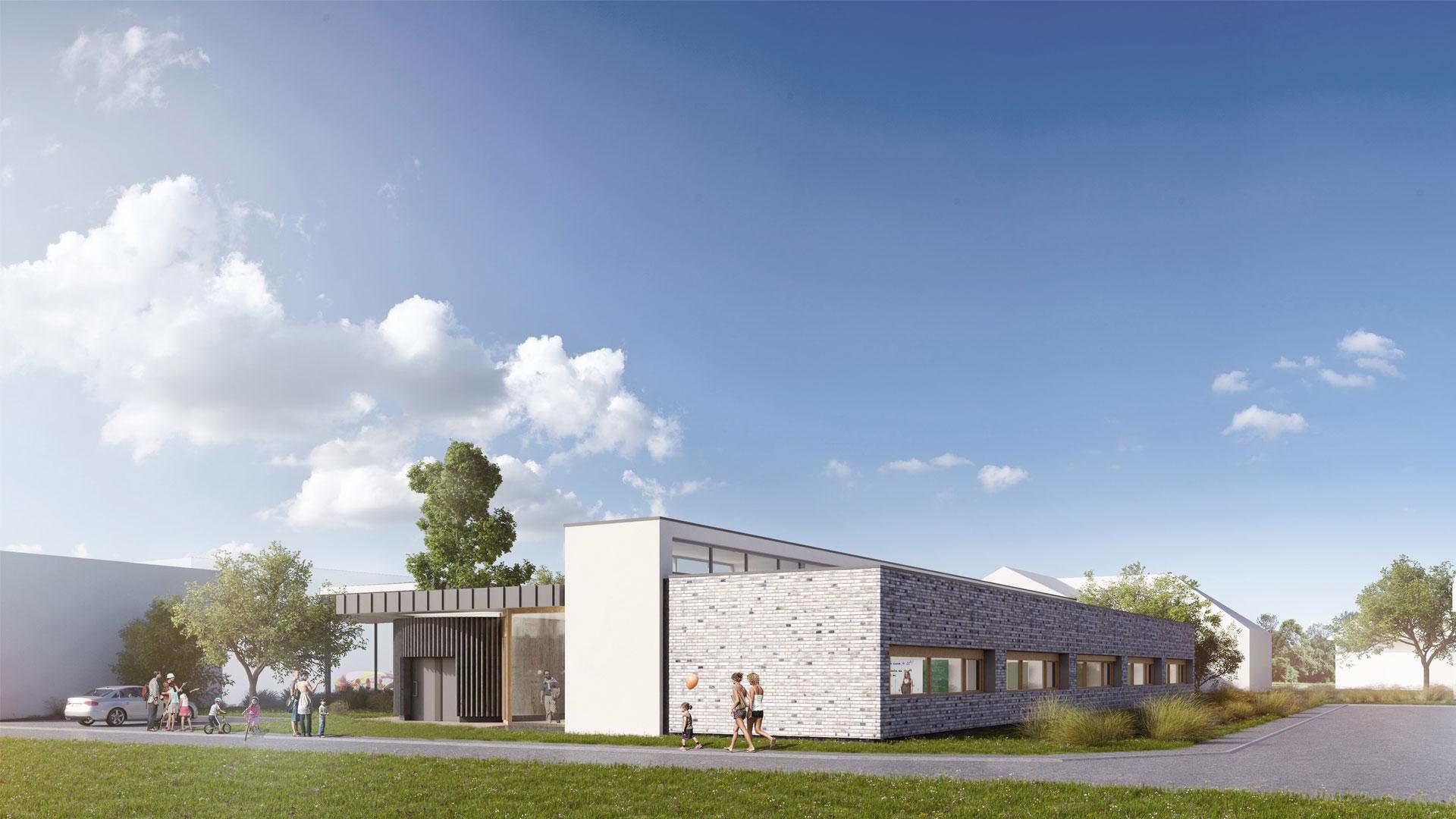 école à Hangenbieten - photo A. Brion