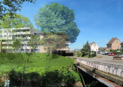 Projet de logements à Haguenau - photo PSA