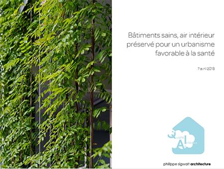 En direct de la Conférence Bâtiments sains, air intérieur préservé pour un urbanisme favorable à la santé  #climat2030