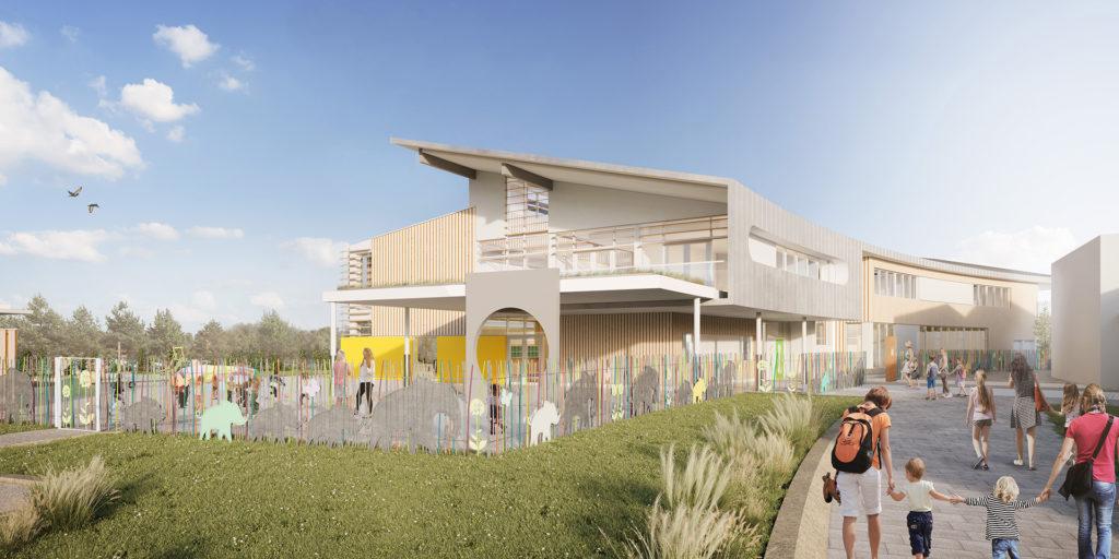 école à Mittelhausbergen Philippe Sigwalt Architecture