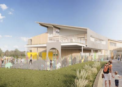 Mittelhausbergen Groupe Scolaire Projet Philippe Sigwalt Architecture